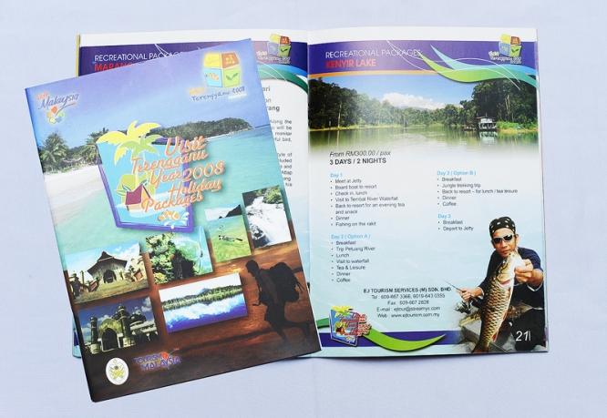 Visit Terengganu year 2008 Holiday Packages Book