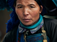 Ha Nhi Minority Woman