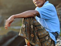 Face of Balinese People